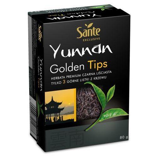 herbata czarna yunnan golden tips 80g marki Sante
