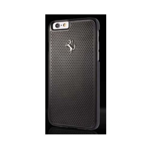 Futerał Ferrari Hardcase perforated aluminium Apple iPhone 6 / 6S, kolor Futerał