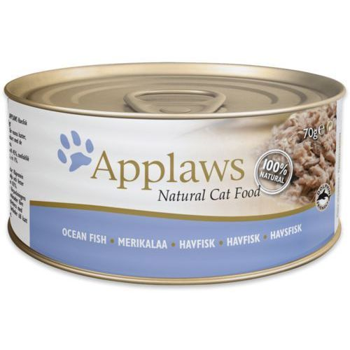 Applaws Natural Cat Food Ryby oceaniczne 156g, 4477