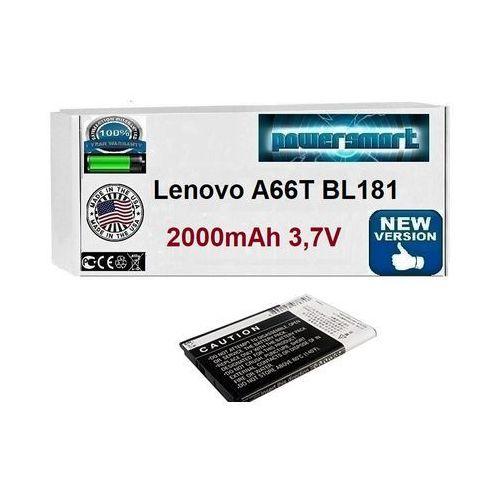 Powersmart Bateria akumulator do lenovo a66t bl181 2000mah
