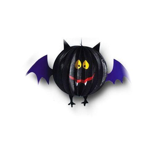 Dekoracja wisząca Nietoperz na Halloween - 30 cm - 1 szt.