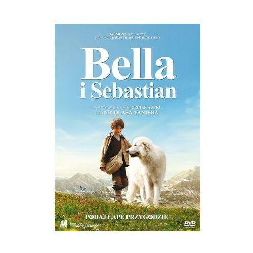 Bella i Sebastian [DVD] - wydanie z książką - Nicolas Vanier (9788393995035)