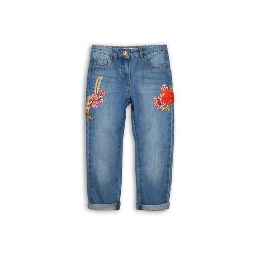Minoti Spodnie dziewczęce jeansowe 4l34a2