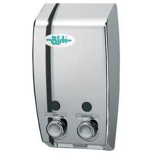Dozownik do mydła w płynie Bisk LUGO 2 x 0,4 litra