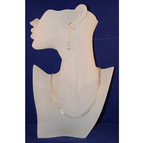 Ekspozytor do prezentacji biżuterii ''pół głowa'' - zmatowione szkło
