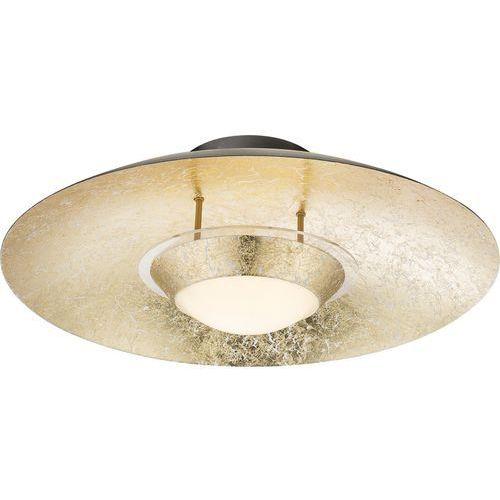 Plafon Globo Atna 41902D lampa sufitowa 1x18W LED czarny / złoty (9007371355143)