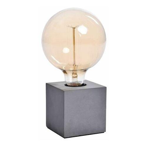 Lampa stołowa GoodHome Qausuit Beto E27 kwadratowa