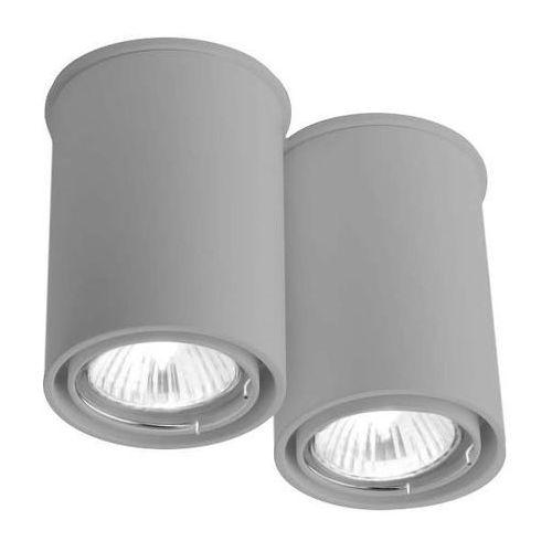 Spot LAMPA sufitowa OSAKA 1120/GU10/SZ Shilo natynkowa OPRAWA DOWNLIGHT szary, 120/GU10/SZ