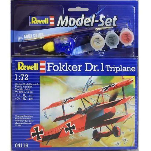 Fokker DR.1 Triplane (z farbami) Revell 64116 (4009803641164)