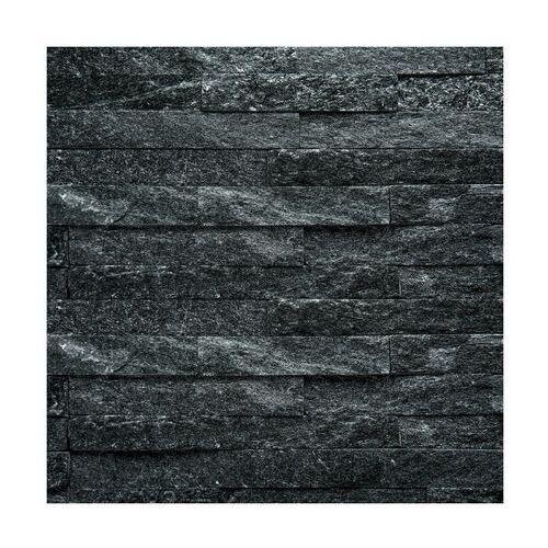 Artens Kamień naturalny z - shape czarny 40 x 10 cm (3276000696971)