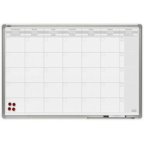 2x3 Planer miesięczny magnetyczny officeboard lakierowany 90x60cm