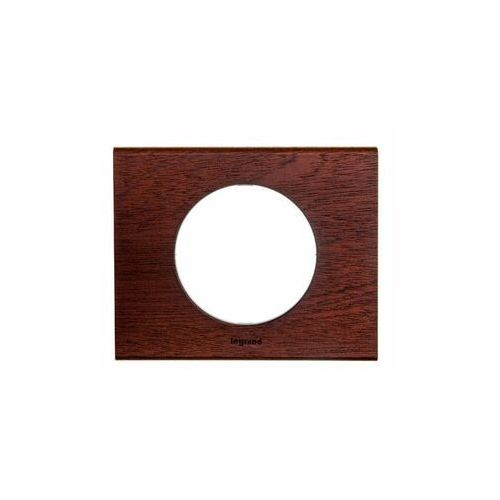 Ramka pojedyncza celiane 069221 drewno mahoń marki Legrand