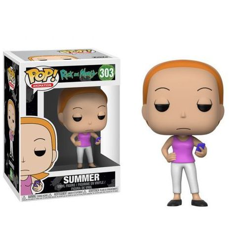 Figurka summer - pop! vinyl: animacje rick and morty marki Funko