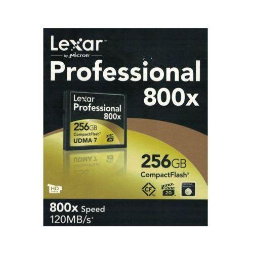 Karta pamięci LEXAR Compact Flash 256GB X800 DARMOWY TRANSPORT