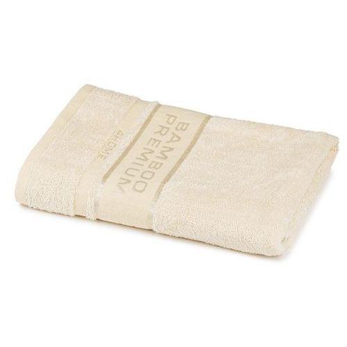 ręcznik kąpielowy bamboo premium kremowy, 70 x 140 cm, 70 x 140 cm marki 4home