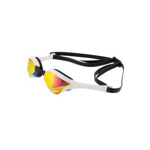 cobra ultra mirror okulary pływackie żółty/czarny okulary do pływania marki Arena