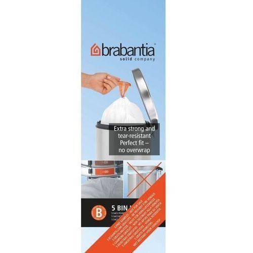 Worki na śmieci Brabantia rozmiar B 5 l 20 szt., 311741