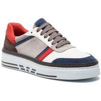 Sneakersy - x4x262 xl760 p030 blue/white/blue/plas marki Emporio armani