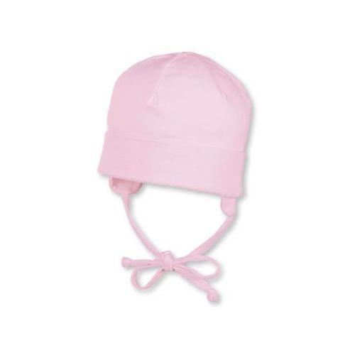 Sterntaler girls czapeczka wiązana jersey, kolor jasnoróżowy (4043168413653)