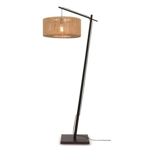 Good&mojo lampa podłogowa iguazu 50x22 czarna iguazu/f/ad/b/5022/n (8716248084130)