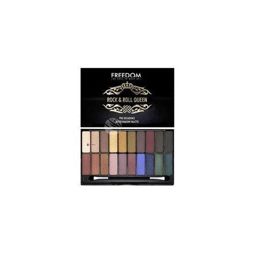 pro decadence palette (w) paleta 20 cieni do powiek rock & roll queen 18g marki Freedom