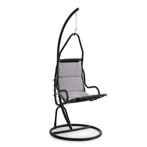 Blumfeldt serramazzoni eggchair, fotel wiszący, poduszka na siedzisko, szary