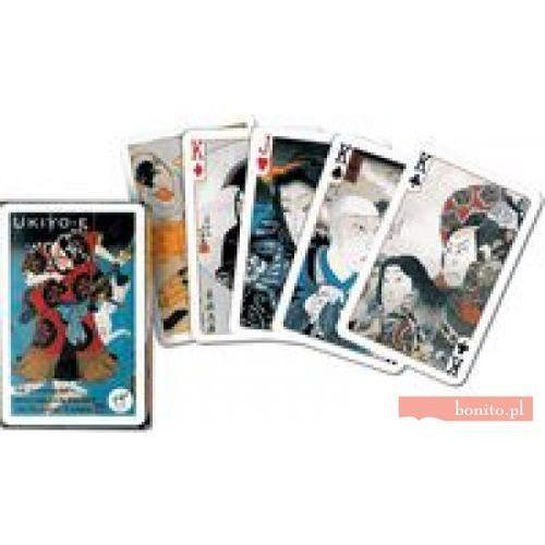 Ukiyo-e karty do gry marki Piatnik