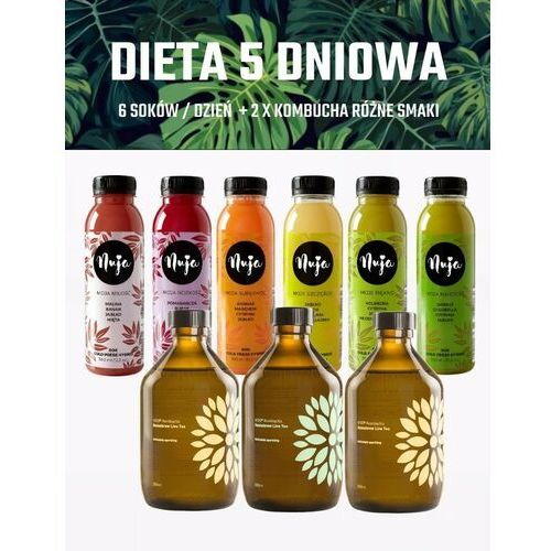 Dieta 5 dniowa Premium / Dieta sokowa / Detoks sokowy (5907518370371)