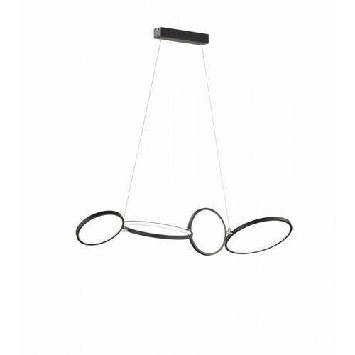Lampa Wisząca Trio Leuchten RONDO LED Czarny, 1-punktowy - Nowoczesny - Obszar wewnętrzny - RONDO - Czas dostawy: od 3-6 dni roboczych (4017807424300)