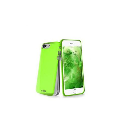 SBS Extra Slim Cover for iPhone 7 green, kolor zielony