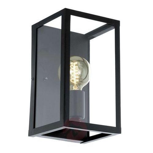 Kinkiet Eglo Charterhouse 49394 lampa ścienna 1x60W E27 czarna