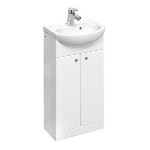 Koło Solo zestaw umywalka 40 cm szafka podumywalkowa biały połysk 79001000