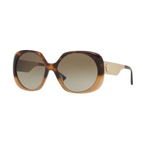 Okulary Słoneczne Versace VE4331 METAL MESH 520513, kolor żółty