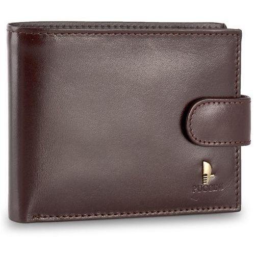 Duży portfel męski - p-20439 2 brązowy marki Puccini