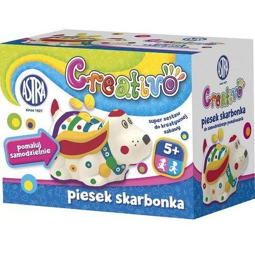 Astra Skarbonka do pokolorowania  creativo piesek