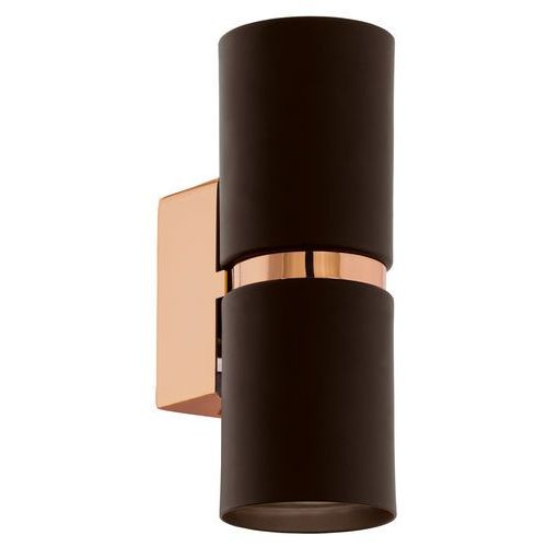 Kinkiet Eglo Passa 95371 lampa ścienna oprawa 2x4W GU10 brąz/miedź LED, 95371