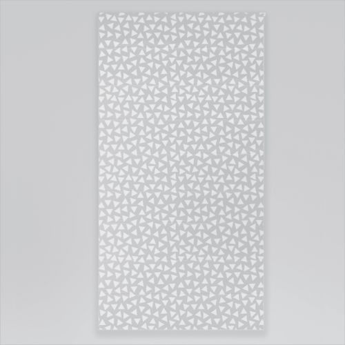 Roleta rzymska okienna na wymiar - WHITE TRIANGLES & GREY BACKGROUND