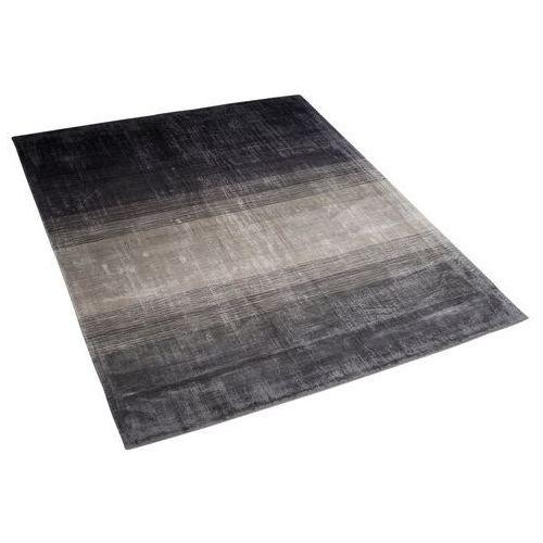 Dywan szaro-czarny 160 x 230 cm krótkowłosy ERCIS
