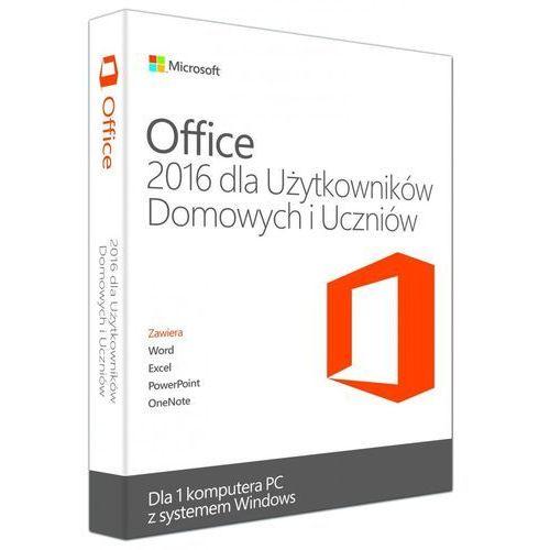 Microsoft Office Home and Students 2016 PL ESD, kup u jednego z partnerów