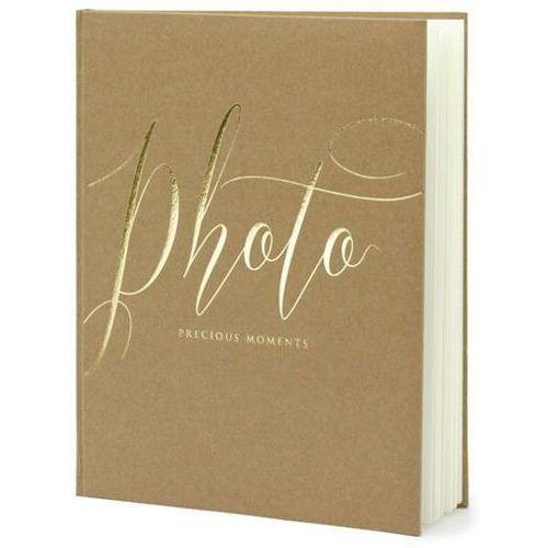 """Partydeco Album na zdjęcia """"precious moments"""", , 20 x 24,5 cm, kraft, 22 kartki (5902230789074)"""