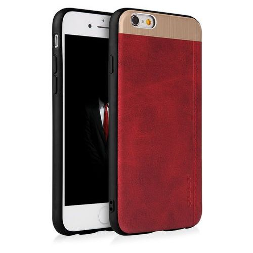 Etui QULT Back Case Slate do iPhone 6/6S Czerwony