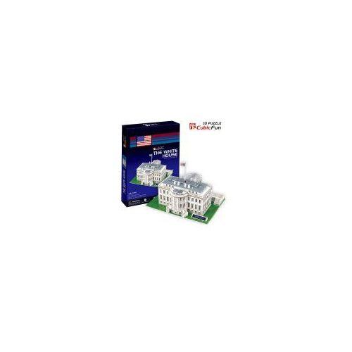 Puzzle 3d biały dom - poznań, hiperszybka wysyłka od 5,99zł! marki Cubicfun