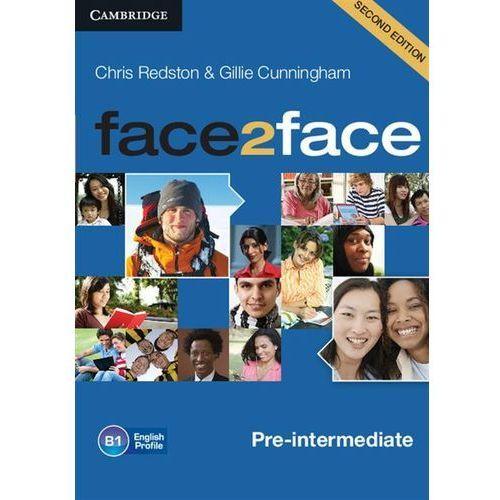 Face2Face pre-intermediate Audio Cds, oprawa kartonowa