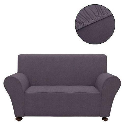 vidaXL Elastyczny pokrowiec na sofę, z dżerseju, antracytowy