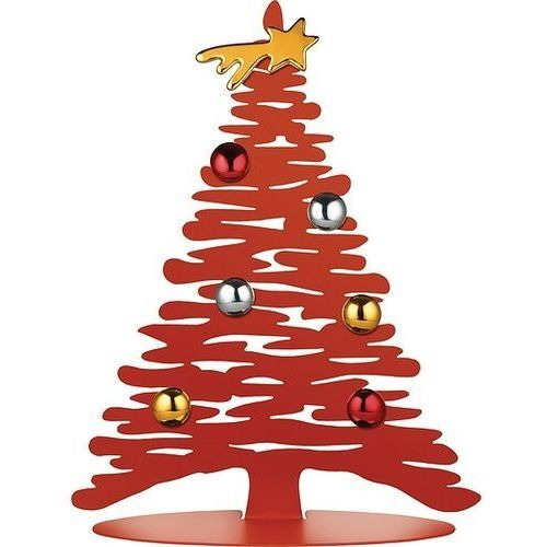 Dekoracja świąteczna bark for christmas czerwona