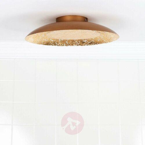 79177/12/01 - led lampa sufitowa foskal led/12w/230v 34,5 cm mosiądz marki Lucide