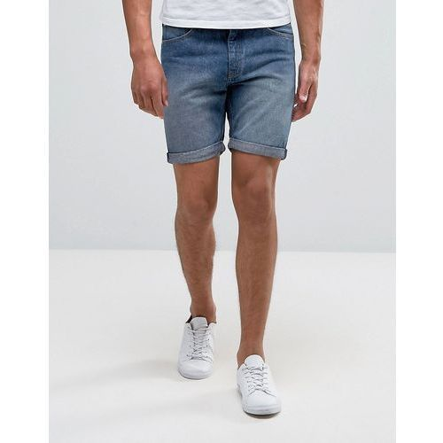 Cheap Monday Sonic Shorts Blue Seed Wash - Blue