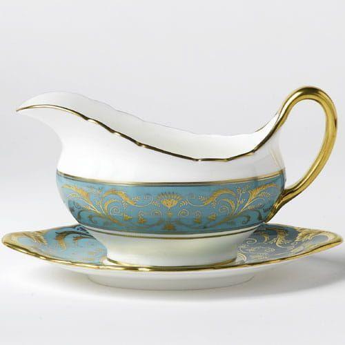 regency turquoise sosjerka marki Royal crown derby
