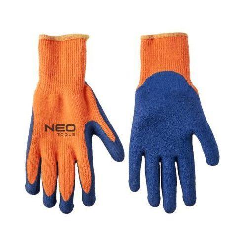 Neo Rękawice robocze 97-611 niebiesko-pomarańczowy (rozmiar 10)