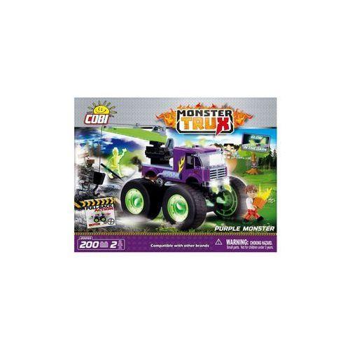 COBI Monster Trux Purple Monster z funkcją pull b
